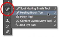healing brush