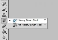 history brush